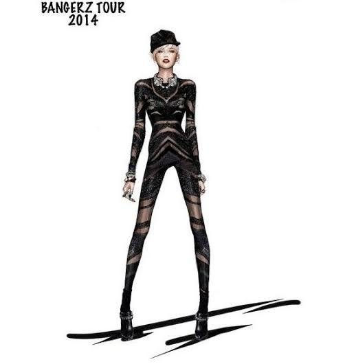 unnamed 1 Miley Cyrus a jej kostýmy od Roberta Cavalliho