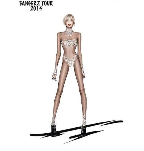 unnamed 5 Miley Cyrus a jej kostýmy od Roberta Cavalliho