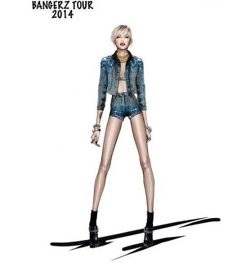 unnamed 6 Miley Cyrus a jej kostýmy od Roberta Cavalliho