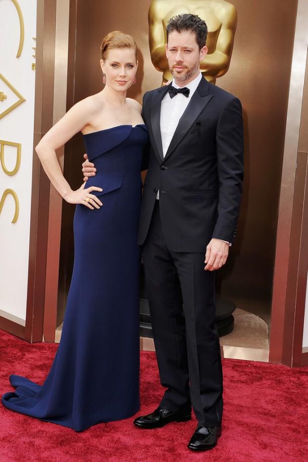 Amy Adams Oscars 2014 610x915 Najlepšie a najhoršie outfity týždňa /Oscary 2014/