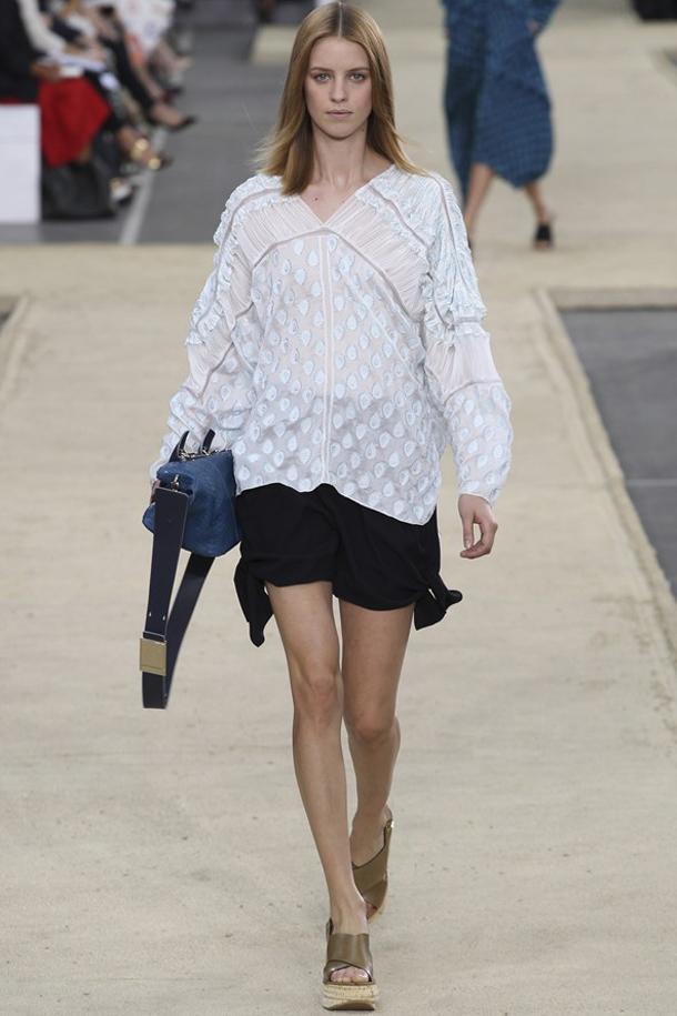 Chloe Ako nosiť kaftan na pláž aj do mesta