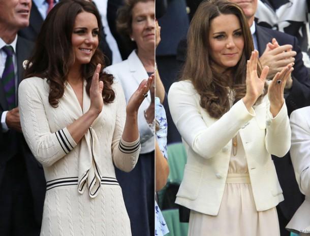 Kate middleton 37 610x465 Módne šampiónky Wimbledonu