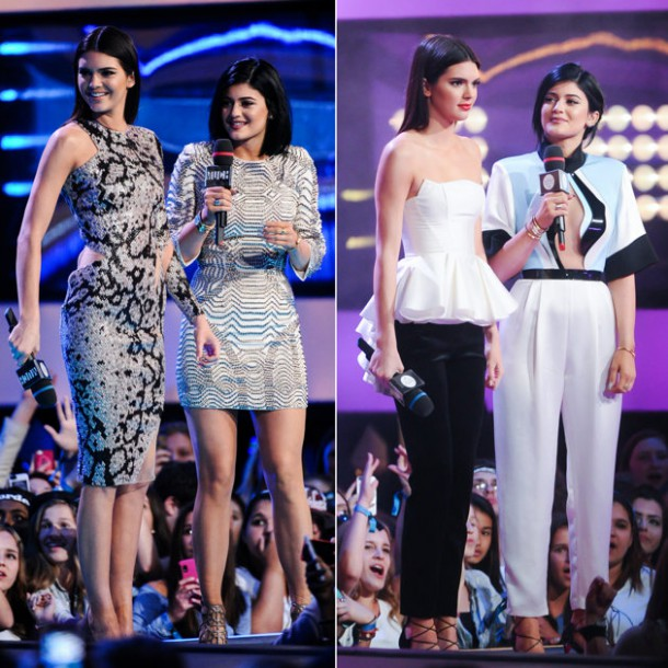 Kendall Jenner Kylie Jenner MuchoMusic outfits 610x610 FASHION ICON: Kylie a Kendall Jenner