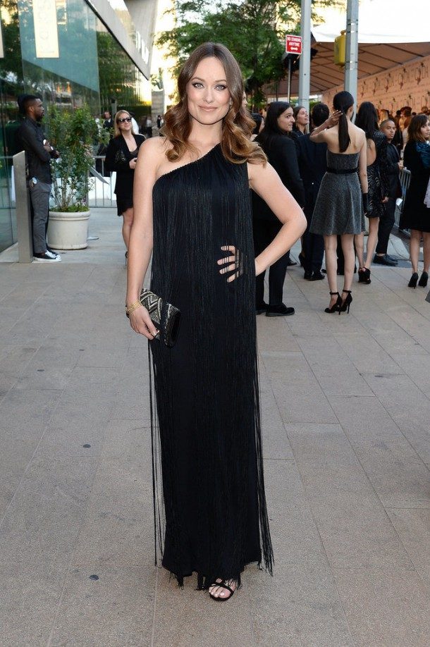 Olivia Wilde 2014 CFDA Awards 610x918 CFDA Fashion Awards 2014