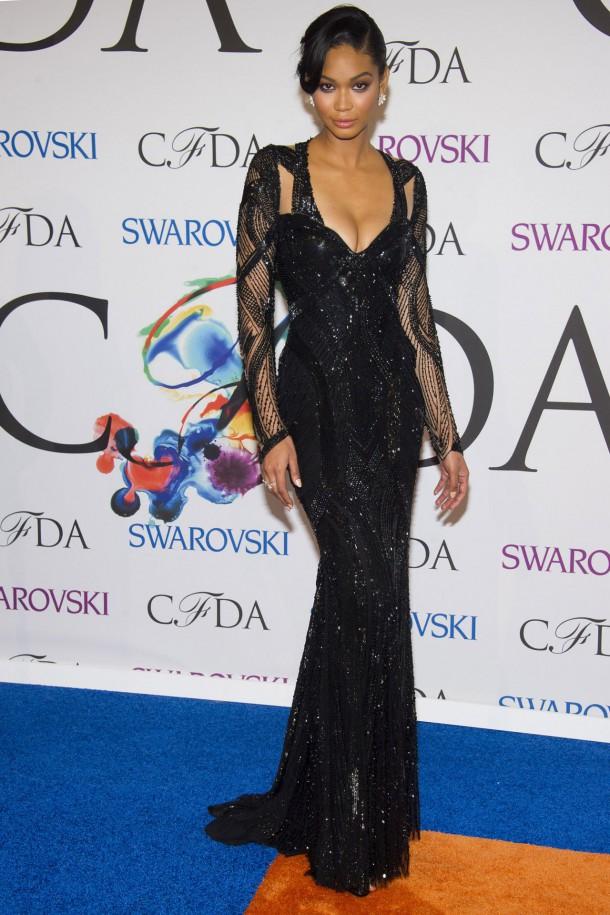 chanel iman 2014 cfda fashion awards 1 610x915 CFDA Fashion Awards 2014