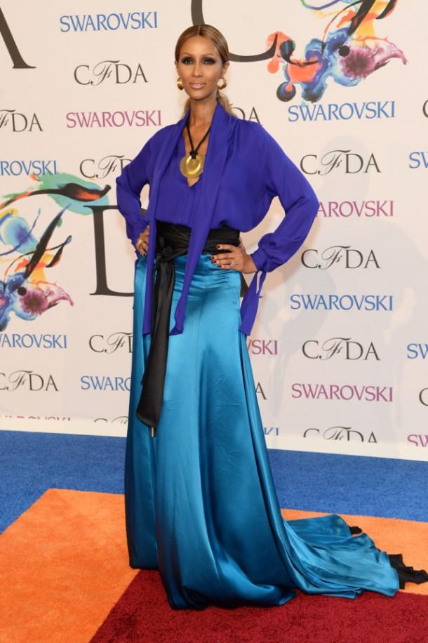 iman cfda awards 14 610x916 CFDA Fashion Awards 2014
