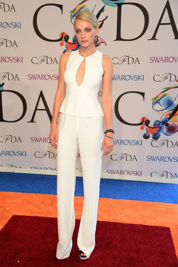 jessica stam 201357614399.jpg gallery max 610x916 CFDA Fashion Awards 2014