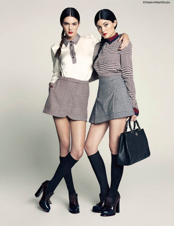 kendall kylie maie claire 3 610x793 FASHION ICON: Kylie a Kendall Jenner