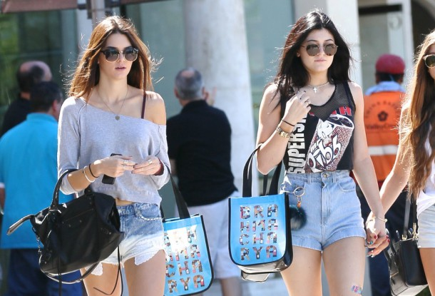 kylie jenner kendall jenner sh 610x415 FASHION ICON: Kylie a Kendall Jenner