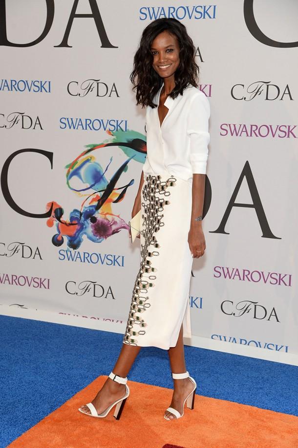 liya kebede 20211313577.jpg gallery max 610x916 CFDA Fashion Awards 2014