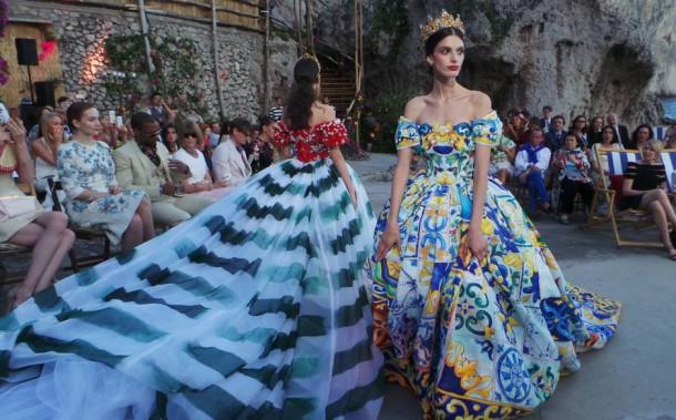 20140711 195457 610x379 Dolce & Gabbana: Haute Couture na slnečnom ostrove Capri