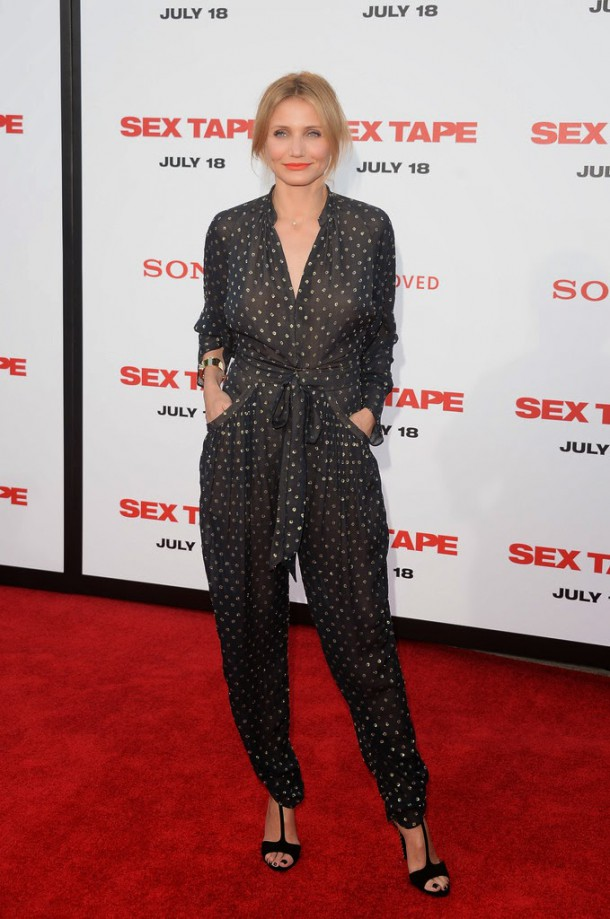 Cameron Diaz in Stella McCartney Sex Tape LA Premiere  610x919 Najlepšie a najhoršie outfity týždňa