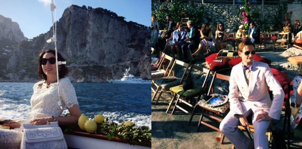 Hamish Bowles 610x302 Dolce & Gabbana: Haute Couture na slnečnom ostrove Capri
