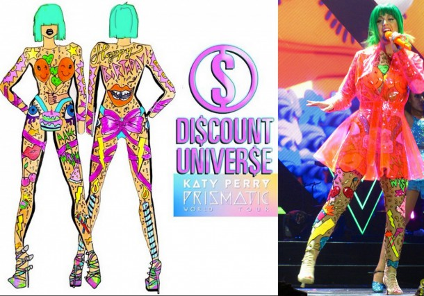 Katy Perry in Discount Universe Prismatic World Tour Costume e1399557402585 610x427 Turné Katy Perry je prezentáciou dizajnérskych kostýmov
