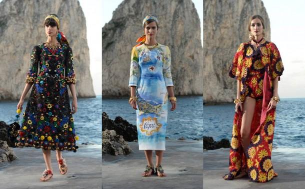 beach1 610x379 Dolce & Gabbana: Haute Couture na slnečnom ostrove Capri