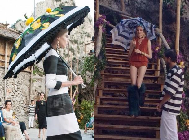 dolce3 610x453 Dolce & Gabbana: Haute Couture na slnečnom ostrove Capri