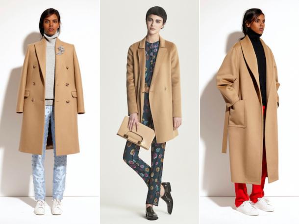 Camel Coat Michael Kors Pre Fall 2014 610x458 Nadčasový kúsok: kabát vo farbe ťavej srsti