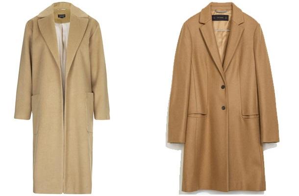 p2 3103912a Nadčasový kúsok: kabát vo farbe ťavej srsti