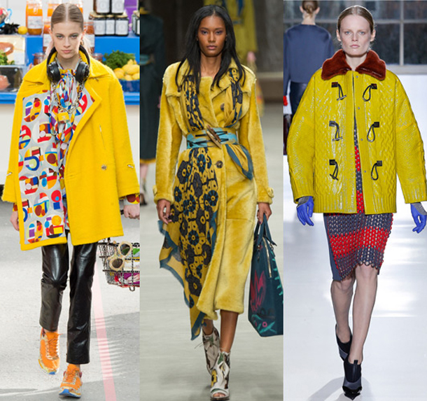 coatcat 3130999a Trend tejto zimy: Žltá