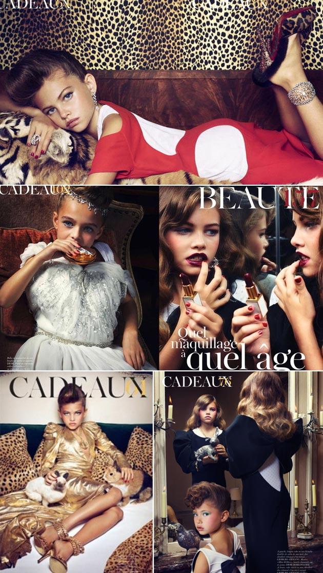 mini miss France Toddlers and Tiaras beauty girls contest concurso belleza infantil Thylane Loubry Blondeau Kontroverzné módne momenty