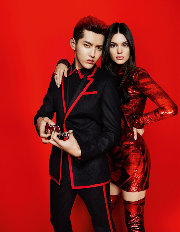 kendall jenner vogue china 1 610x785 Kendall Jenner pre Vogue China