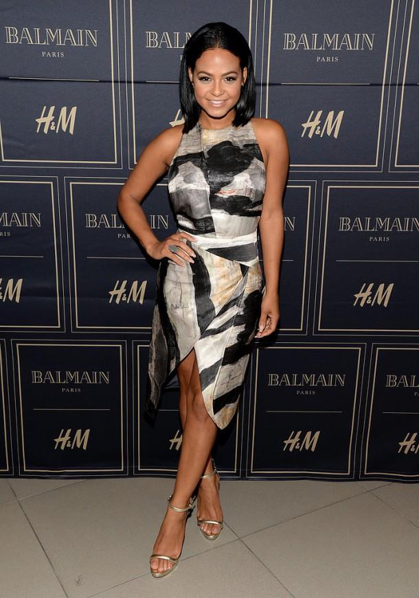 Christina Milian 610x872 BALMAIN X H&M: módne šialenstvo