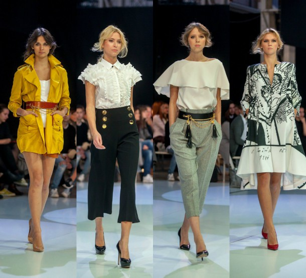 Collage VeronikaHloznikova 610x555 Módne podujatie roka: Fashion LIVE! 2015