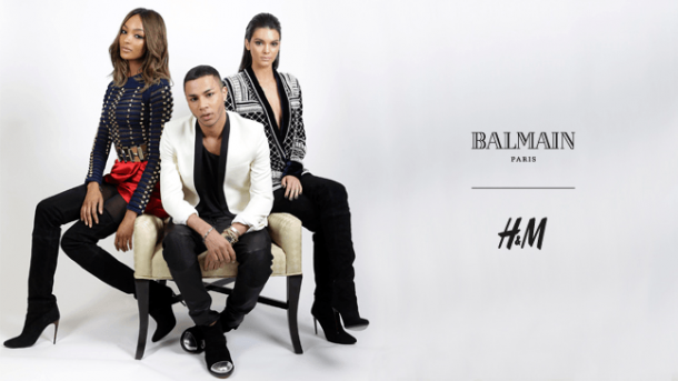 H and M Balmain1 610x343 BALMAIN X H&M: módne šialenstvo