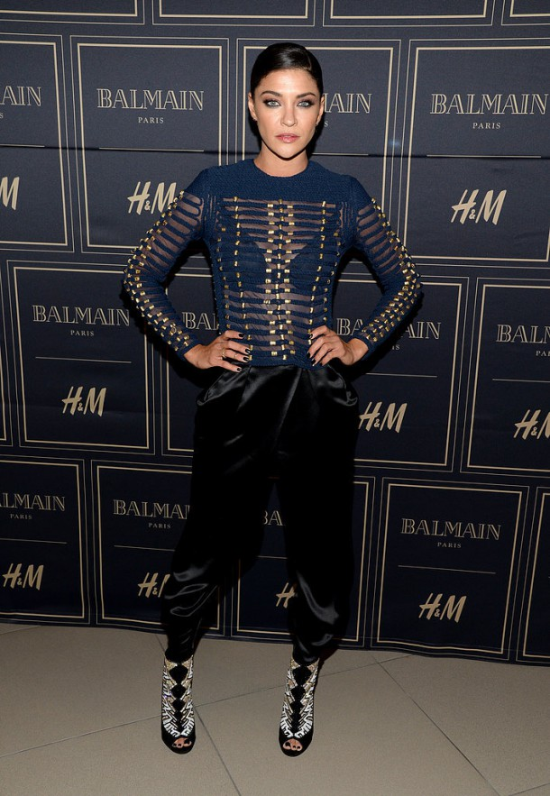 Jessica Szohr 610x883 BALMAIN X H&M: módne šialenstvo