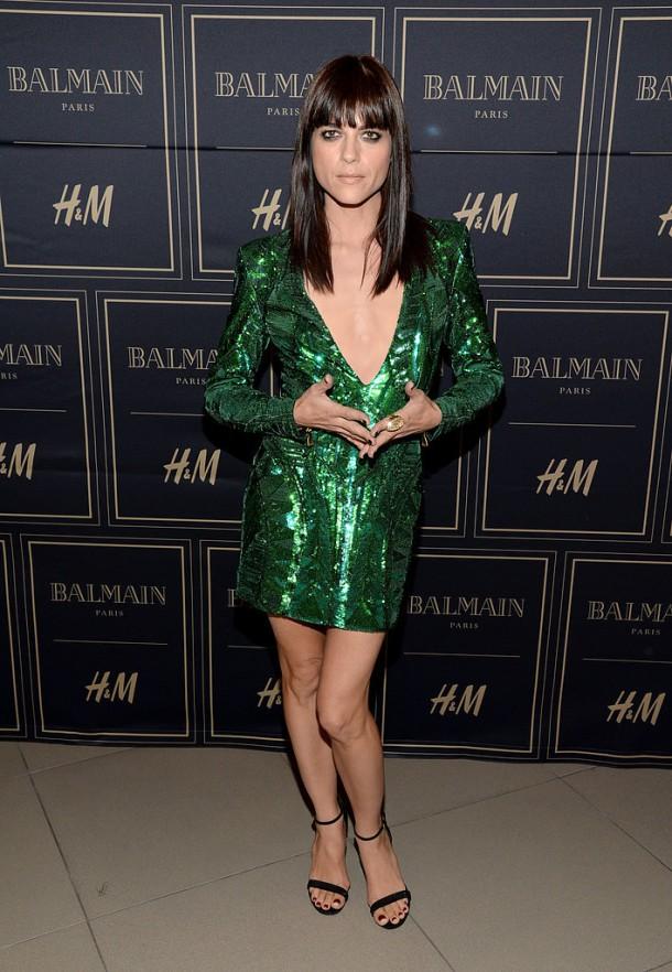 Selma Blair 610x882 BALMAIN X H&M: módne šialenstvo