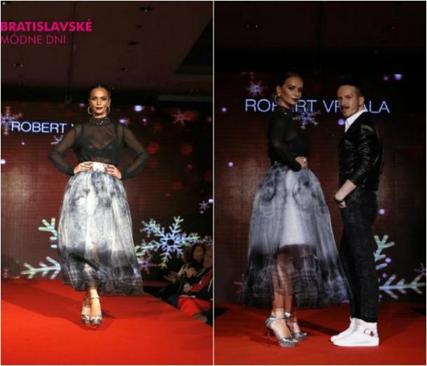 collage4 610x524 Bratislavské módne dni: Módna prehliadka plesových šiat