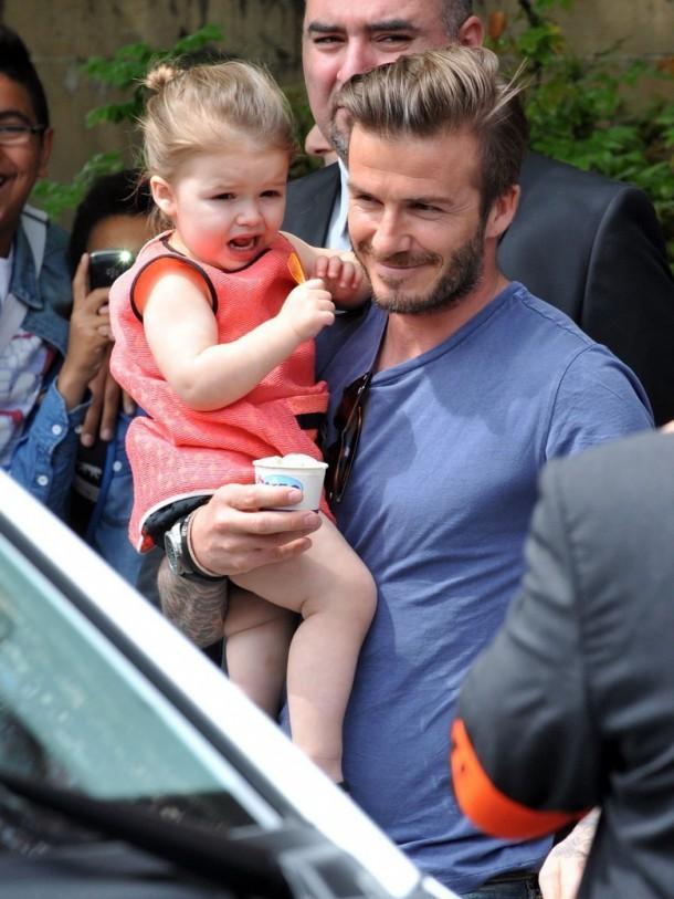 10 choses que vous ne saviez peut etre pas sur Harper Seven Beckham 610x813 Fashionistka Harper Beckham