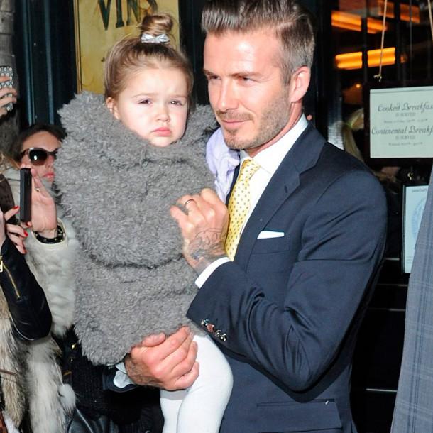 Harper Beckham thumb 610x610 Fashionistka Harper Beckham