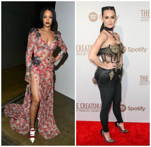 collage4 610x591 Módny (s)hit: Rihanna a Katy Perry