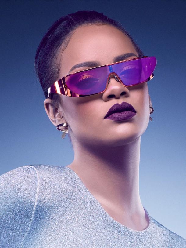 Rihanna Dior Sunglasses 2016 Photos03 610x812 Rihanna opäť navrhovala