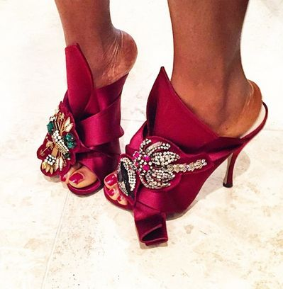 Awed by Monica Hot Shoe Trends to Try BellaNaija November 2015007 Trend sezóny: topánky MULES