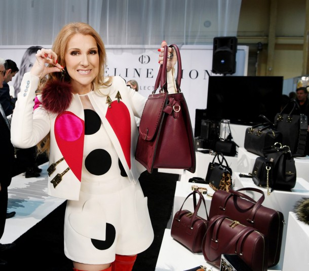 Celine Dion Accessories Collection 2017 610x535 Celine Dion navrhla kolekciu kabeliek