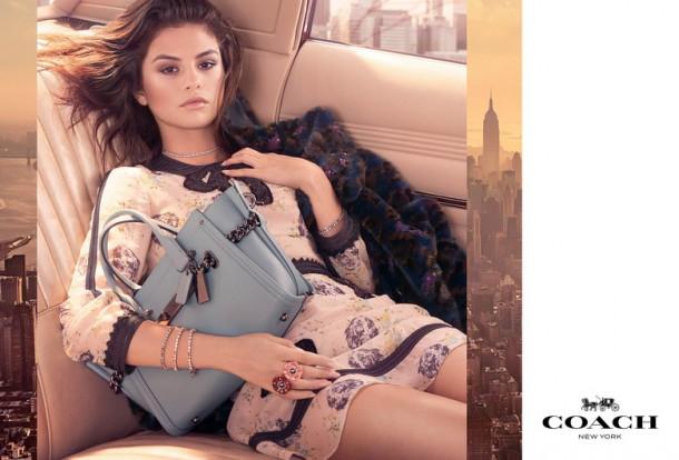 00 selena coach lede 610x414 Selena Gomez v kampani Coach