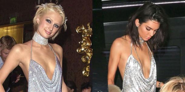1498119579 kendall paris silver dress hp 1497650631 610x305 Hviezdne vojny: Paris Hilton VS. Kendall Jenner