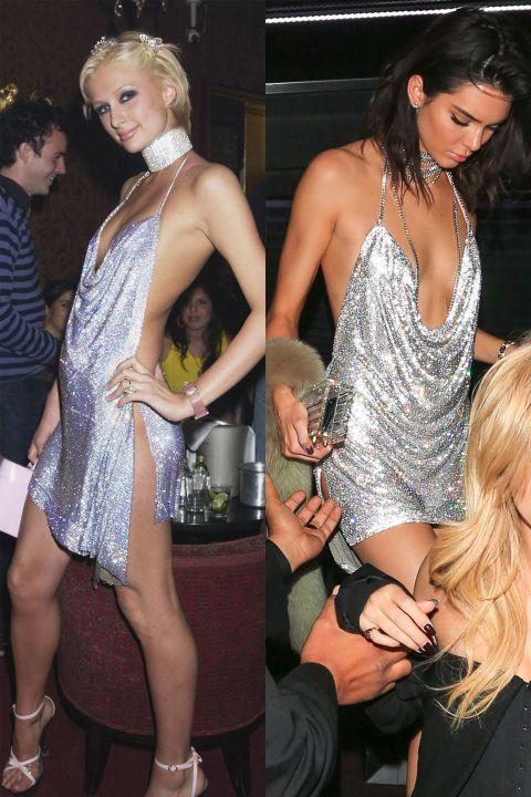 1498119597 paris kendall silver b day dress 1497649975 Hviezdne vojny: Paris Hilton VS. Kendall Jenner