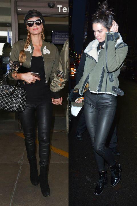 1498119637 paris kendall leather army 1497649973 Hviezdne vojny: Paris Hilton VS. Kendall Jenner