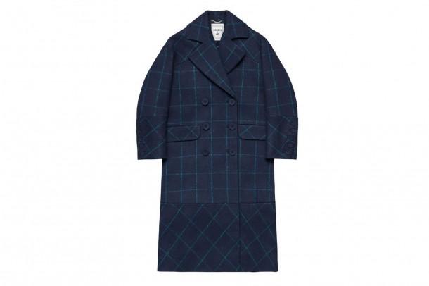 Erdem HM Check Coat 610x406 Spolupráca roka: H&M a ERDEM