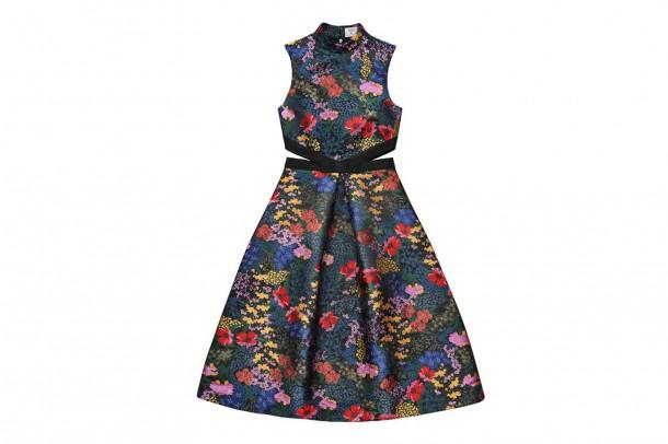 Erdem HM Cut Out Dress 610x406 Spolupráca roka: H&M a ERDEM