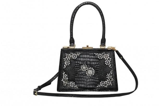 Erdem HM Embellished Bag 610x406 Spolupráca roka: H&M a ERDEM