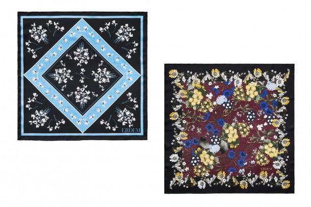 Erdem HM Scarves 610x406 Spolupráca roka: H&M a ERDEM