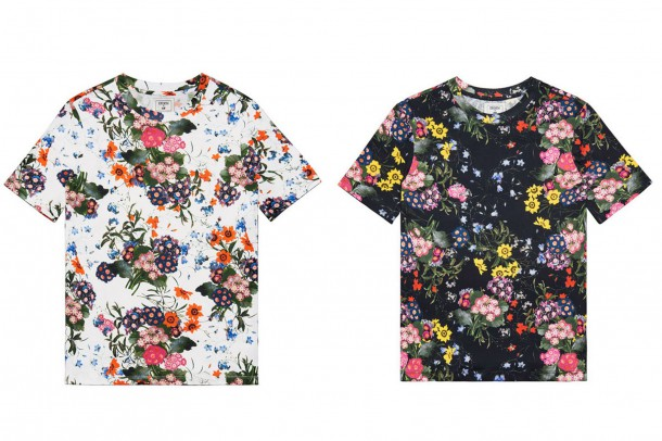 Erdem HM Tshirts 610x406 Spolupráca roka: H&M a ERDEM
