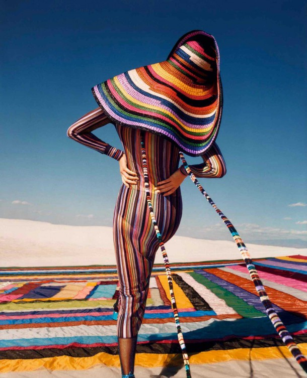 Kendall Jenner in Missoni Spring Summer Campaign 5 610x753 Kendall Jenner pre Missoni