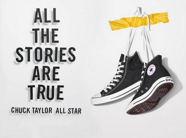 converse chuck taylor all star 610x453 Converse   história a nová celosvetová kampaň