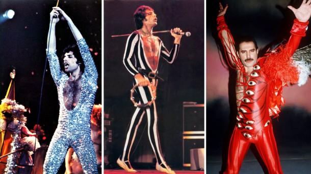 freddie mercury kolaz 610x343 Freddie Mercury a jeho neobyčajný štýl