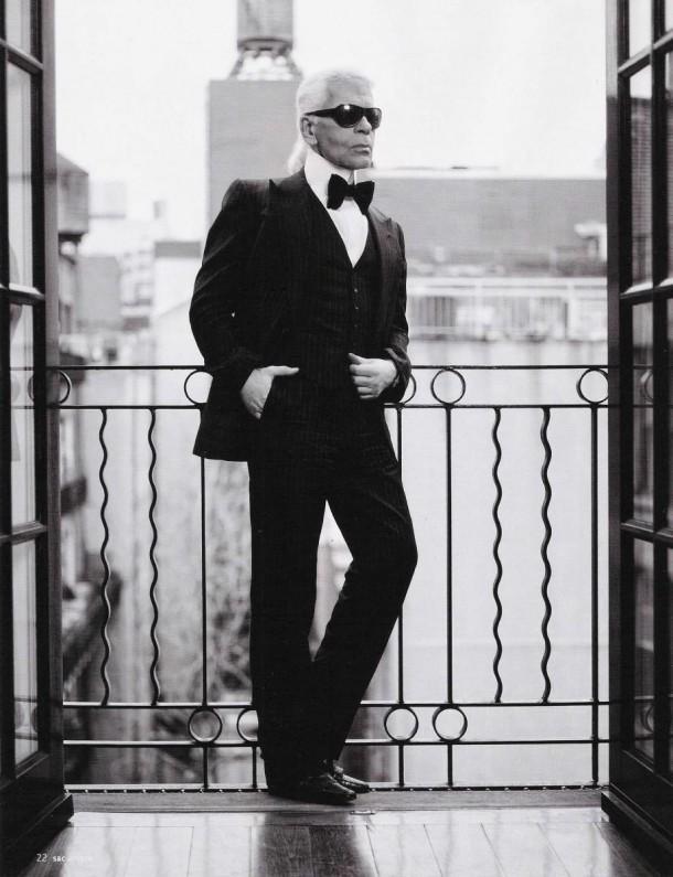 STAJLsk Karl Lagerfeld 003 610x795 Karl Lagerfeld a jeho módna cesta